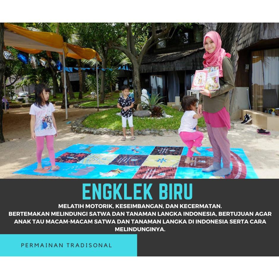 Permainan Tradisional Engklek Edukatif Shopee Indonesia