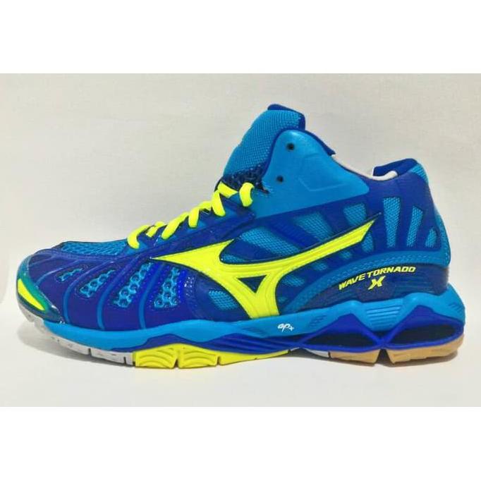 Sepatu Voli Mizuno Wave Tornado 10 Mid Olahraga Volly  ba99672391