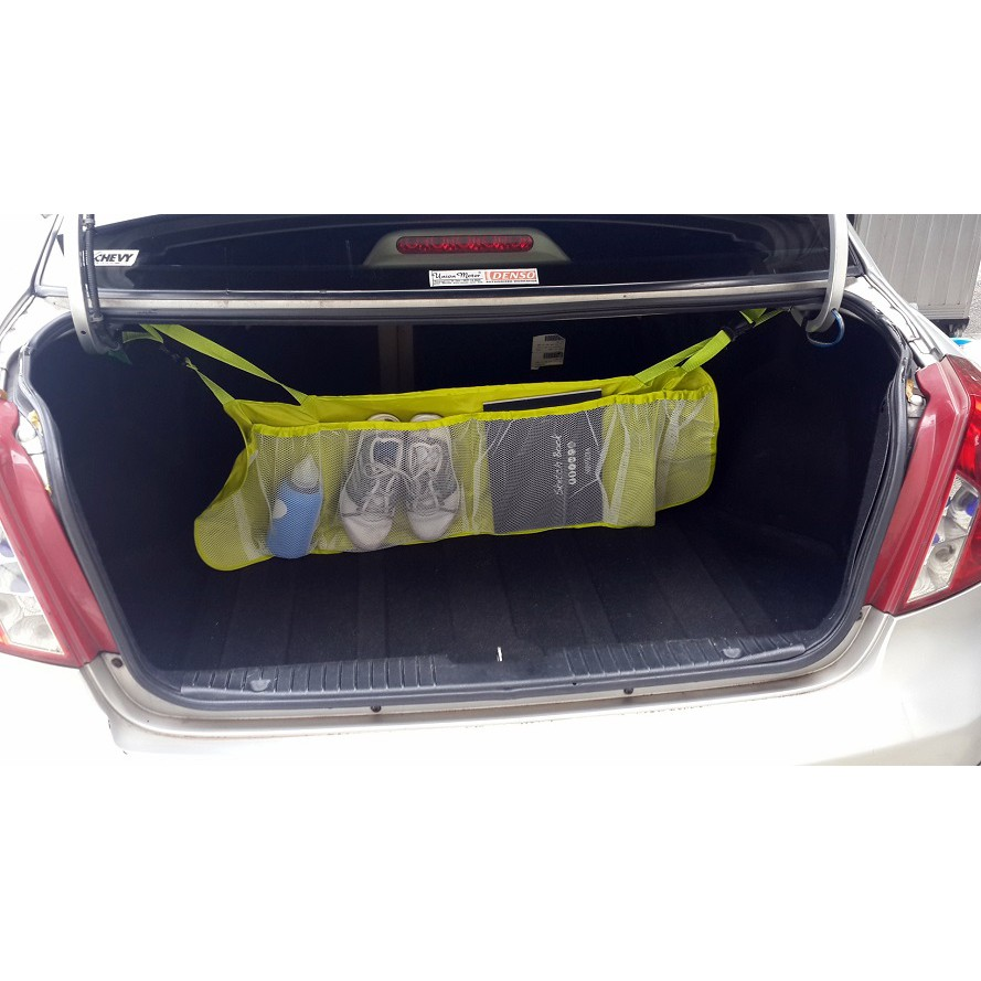 Auto Seat Car Organizer Barang Rapi Di Mobil A332 Shopee Indonesia Set Organiser Tempat Simpan Unik