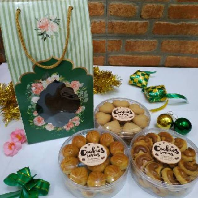 Cookies Parcel Hamper Hampers Parsel Kue Kering Lebaran Idul Fitri