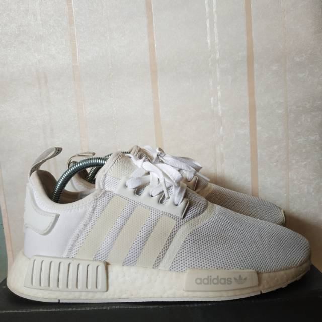 Adidas Nmd R1 White Reflective Shopee Indonesia