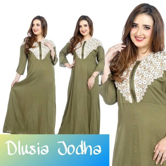 Maxi dress arab/india/dubai/turki dolce tiara dress busui tangan panjang |