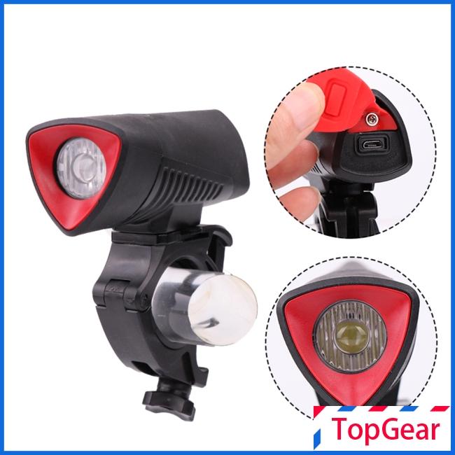 USB Charging L2 LED Cycling Bike Bicycle Headlamp Head Light Lamp Flashlight USA
