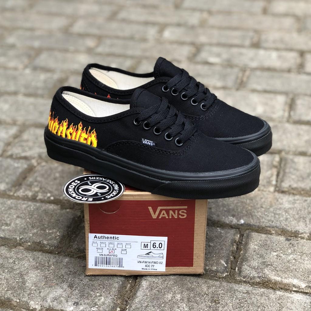 Sepatu Vans Authentic Black White Unisex Original PREMIUM Waffle ICC DT IFC  Bnib China  3ce00a8bac