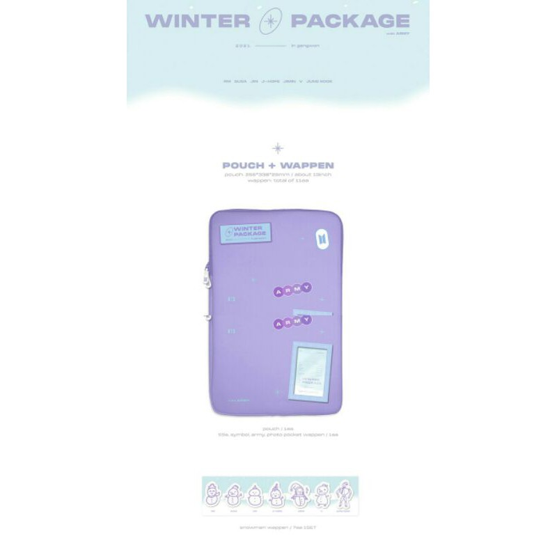 [pouch] sharing winter package bts 2021