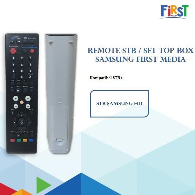 Remote First Media: Remote STB Samsung First Media (Kode 007)