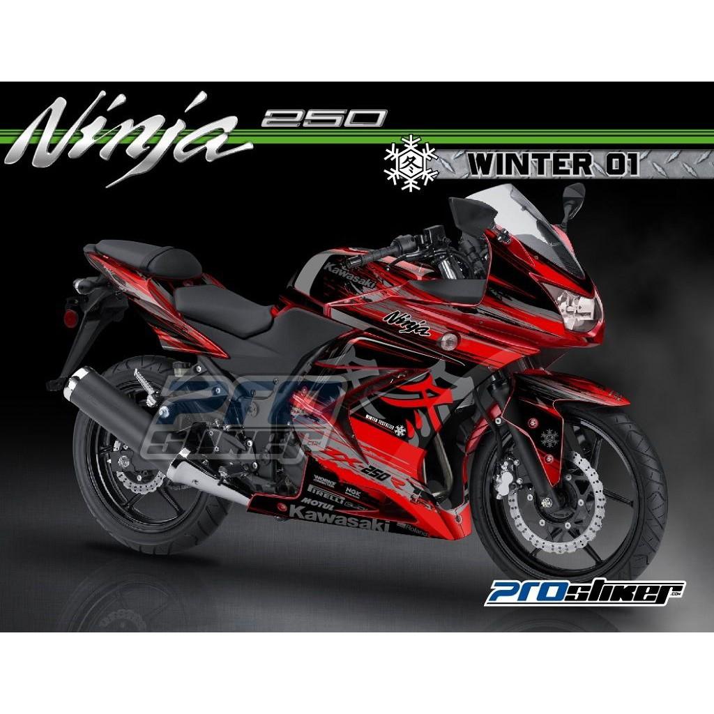 Decal Ninja 250 Karbu Desain Kode 016 020 Shopee Indonesia All New Cb 150r Streetfire Stallion Black Kab Semarang