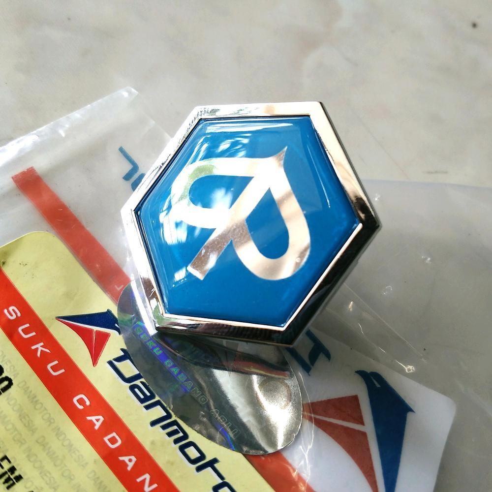 Emblem Logo Chung Vespa Excel Shopee Indonesia Sepasang Spion Vigano Bahan Plastik