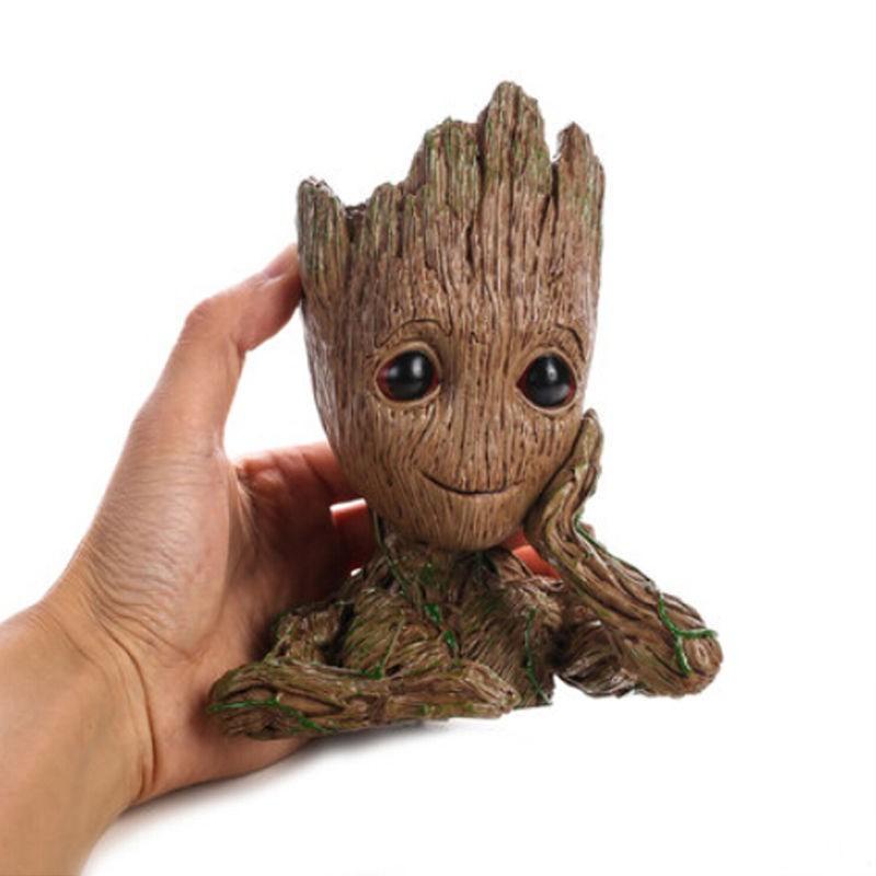 Pajangan mainan lucu baby GROOT kecil dari Guardians of the Galaxy murah  the Avengers Marvel Comics  4b0a59823b
