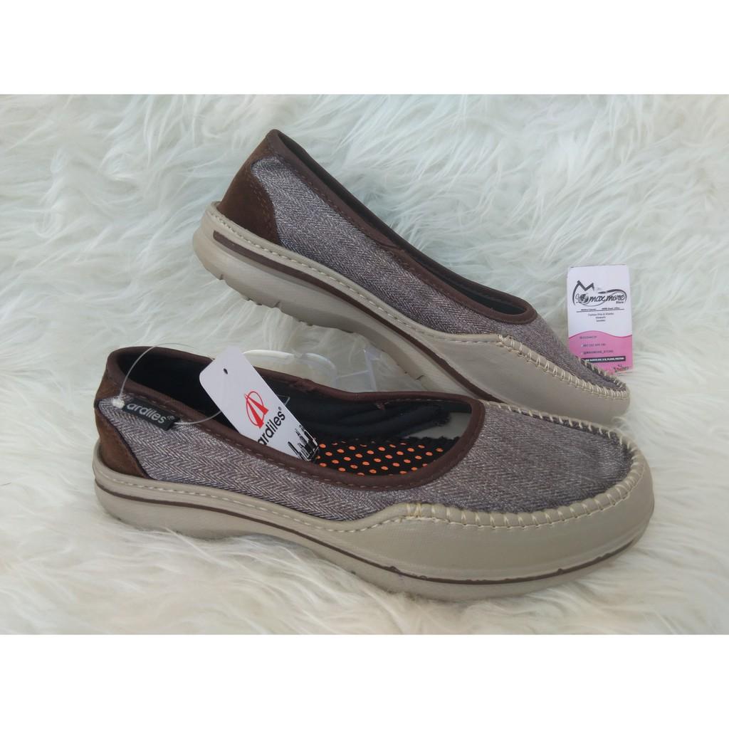 Ardiles Men Pasadena Sepatu Slip On Coklat Shopee Indonesia Money Vesto 43