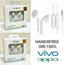 [A] Headset Handsfree Earphone ORI OPPO & VIVO