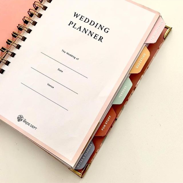 Wedding Planner By Thebridedept Shopee Indonesia