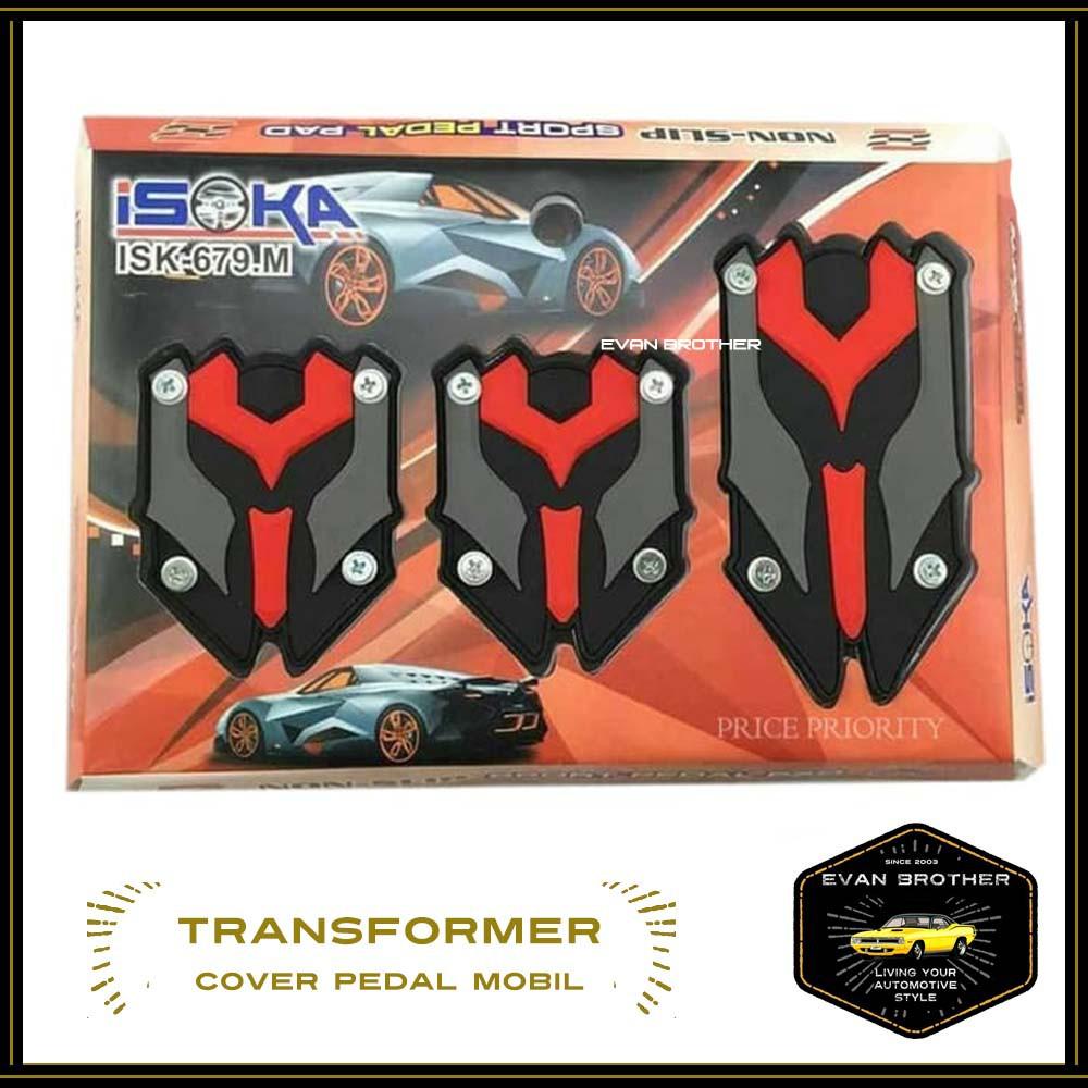 Pedal Gas Mobil / Brake Pedal Cover Manual /cover pedal manual TRD SPORTIVO | Shopee