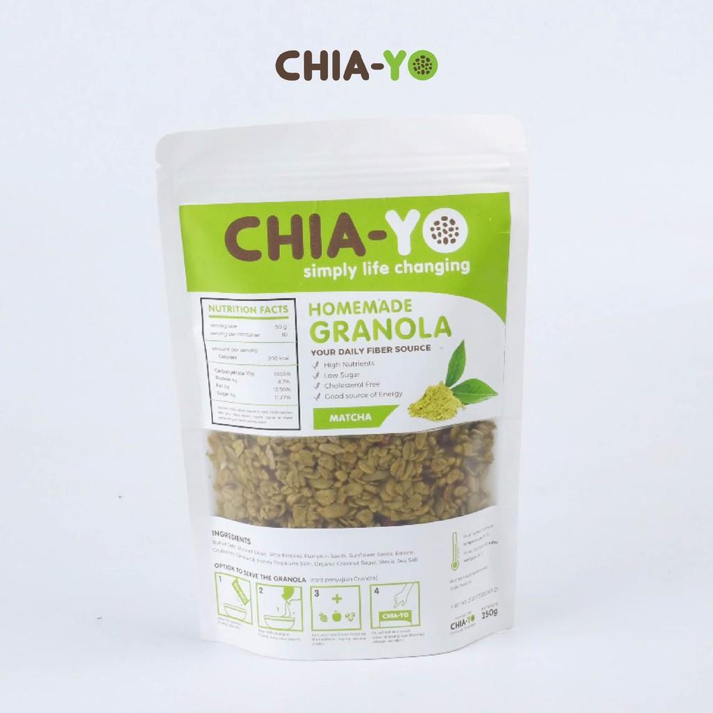 Granola Original 250gr Shopee Indonesia Chiayo Homemade