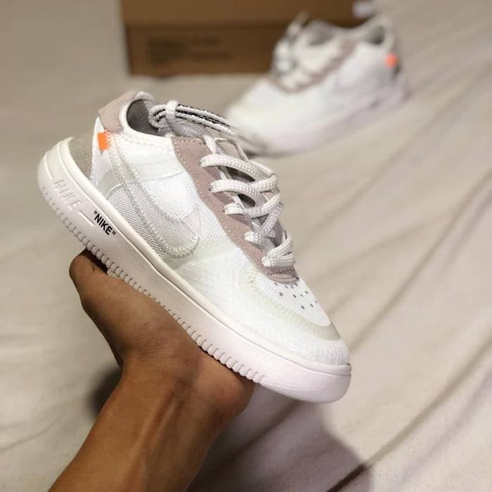 Ads 775 Sepatu Nike Airforce 1 Off White Kids Sepatu Nike Kado Anak Shopee Indonesia