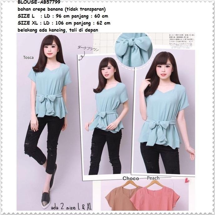 Style Baju Atasan Santai Kimono Shanghai Leaf Blouse Bangkok Korea Import  Fashionable Clothing HQ  861fa17722