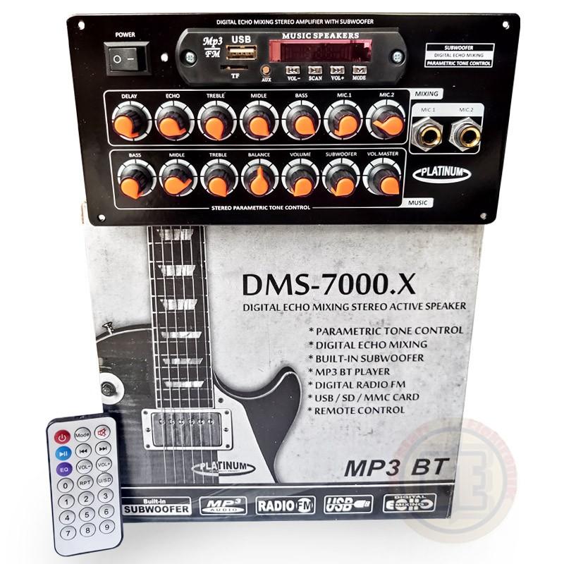 KIT POWER DMS7000X BT SPEAKER AKTIF ACTIVE MP3 BLUETOOTH SANKEN DMS-7000.X BT