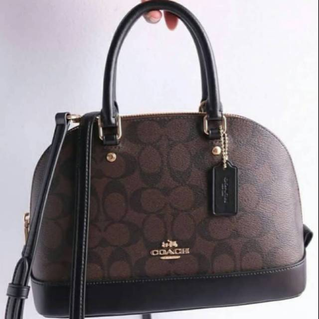 COACH ORIGINAL SMALL MINI KELSEY LEATHER BAG Tas kulit asli   genuine  leather black    c84243565b