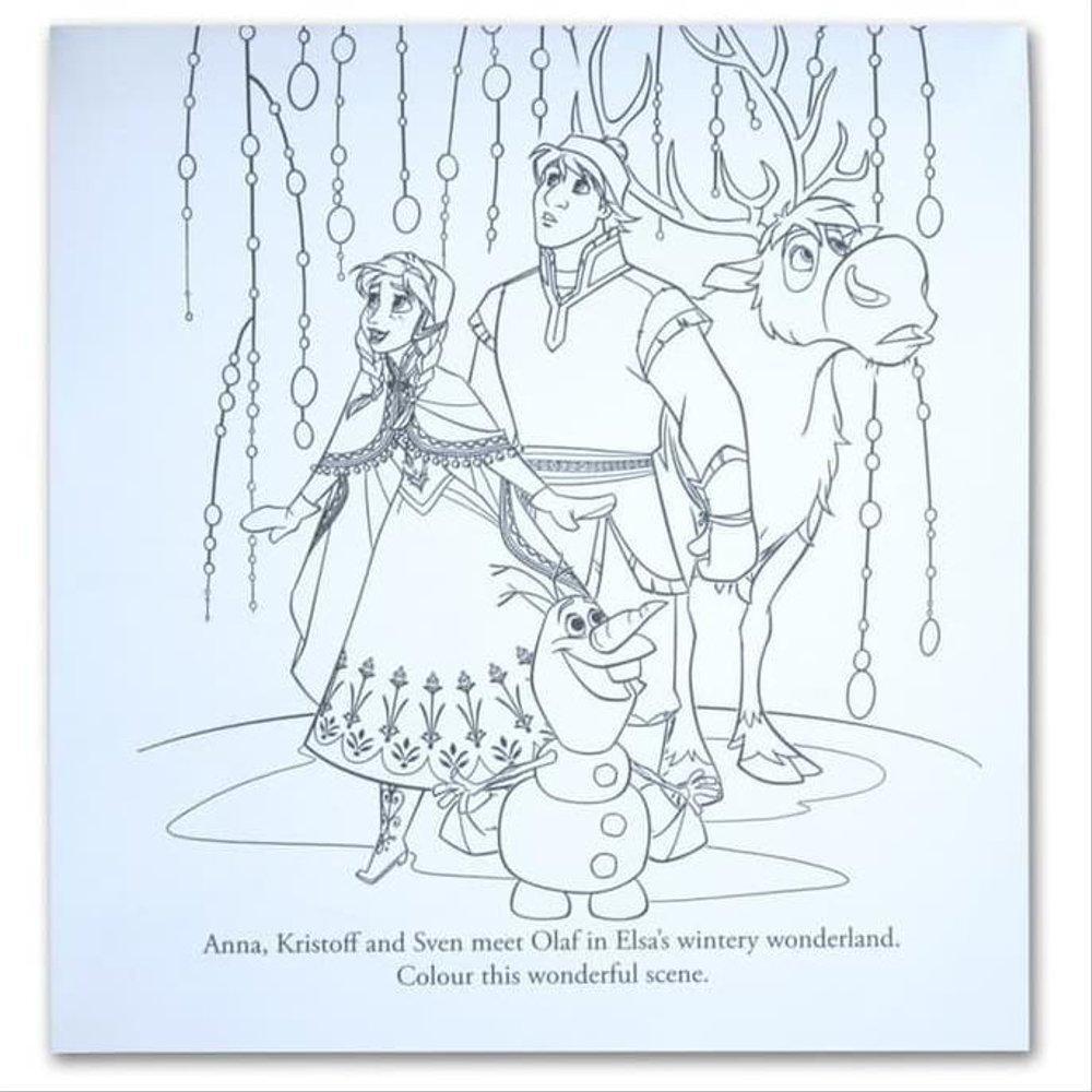 - Promo Serbu Disney Frozen Coloring Book Set Buku Aktivitas