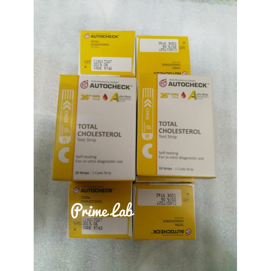 Jual Strip Autocheck Cholesterol Murah Shopee Indonesia