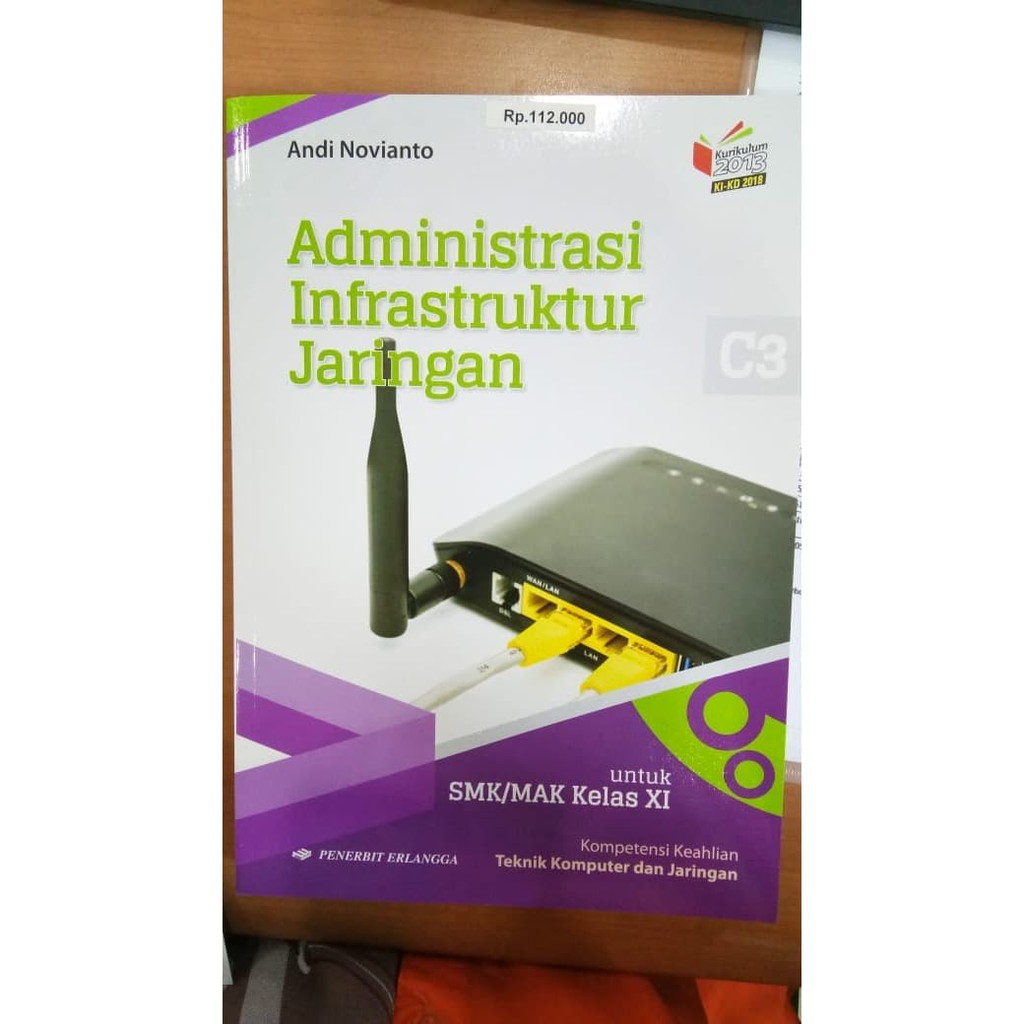 New Ori Buku Administrasi Infrastruktur Jaringan Kompetensi Tkj Smk Kelas 2 Shopee Indonesia