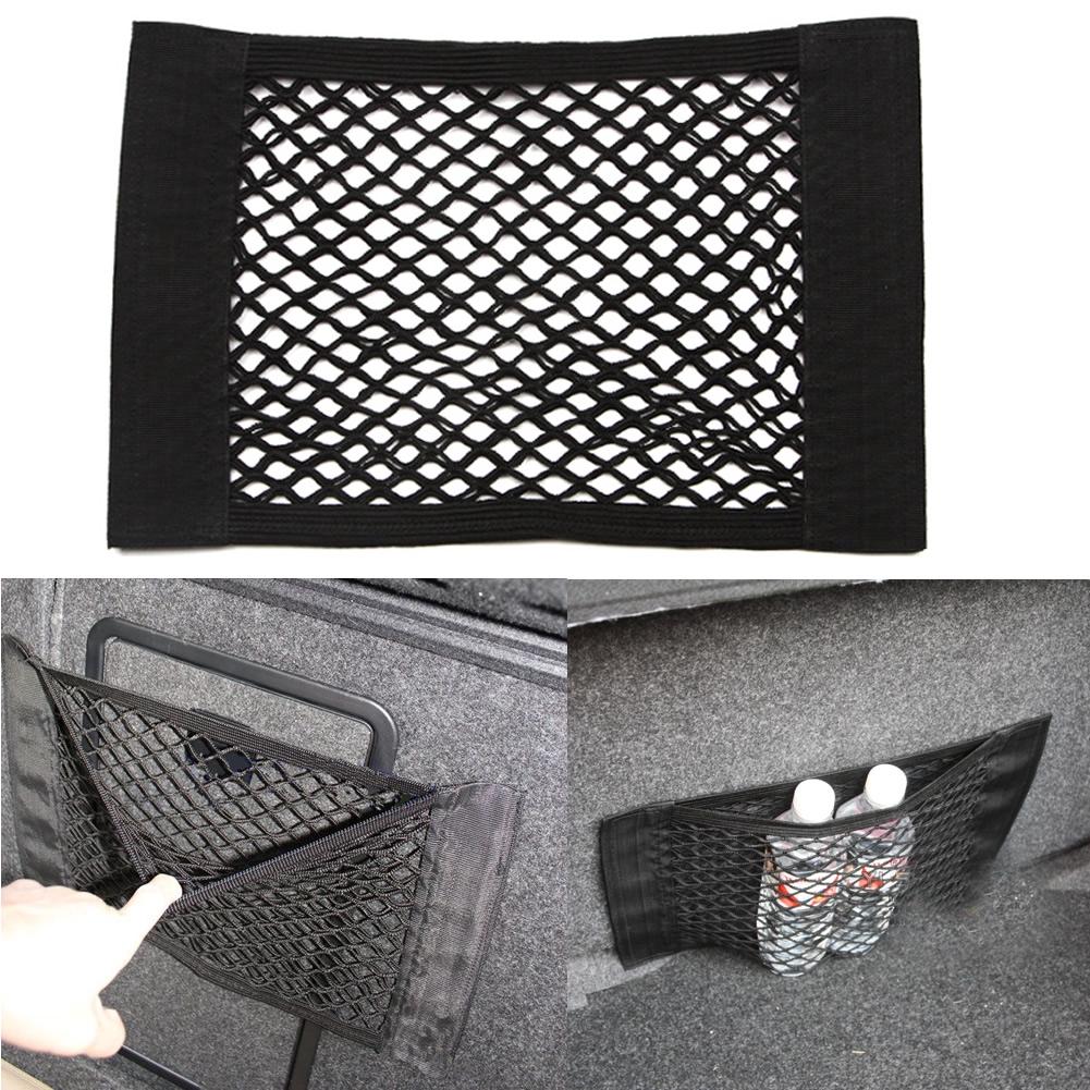 Car Auto Trunk Organizer Elastic String Net Mesh Storage Bag Pocket Pouch Cage