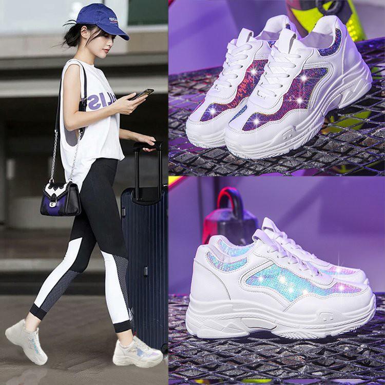 Sepatu Sneakers Wanita Import Sepatu Olahraga Wanita Sneaker Putih