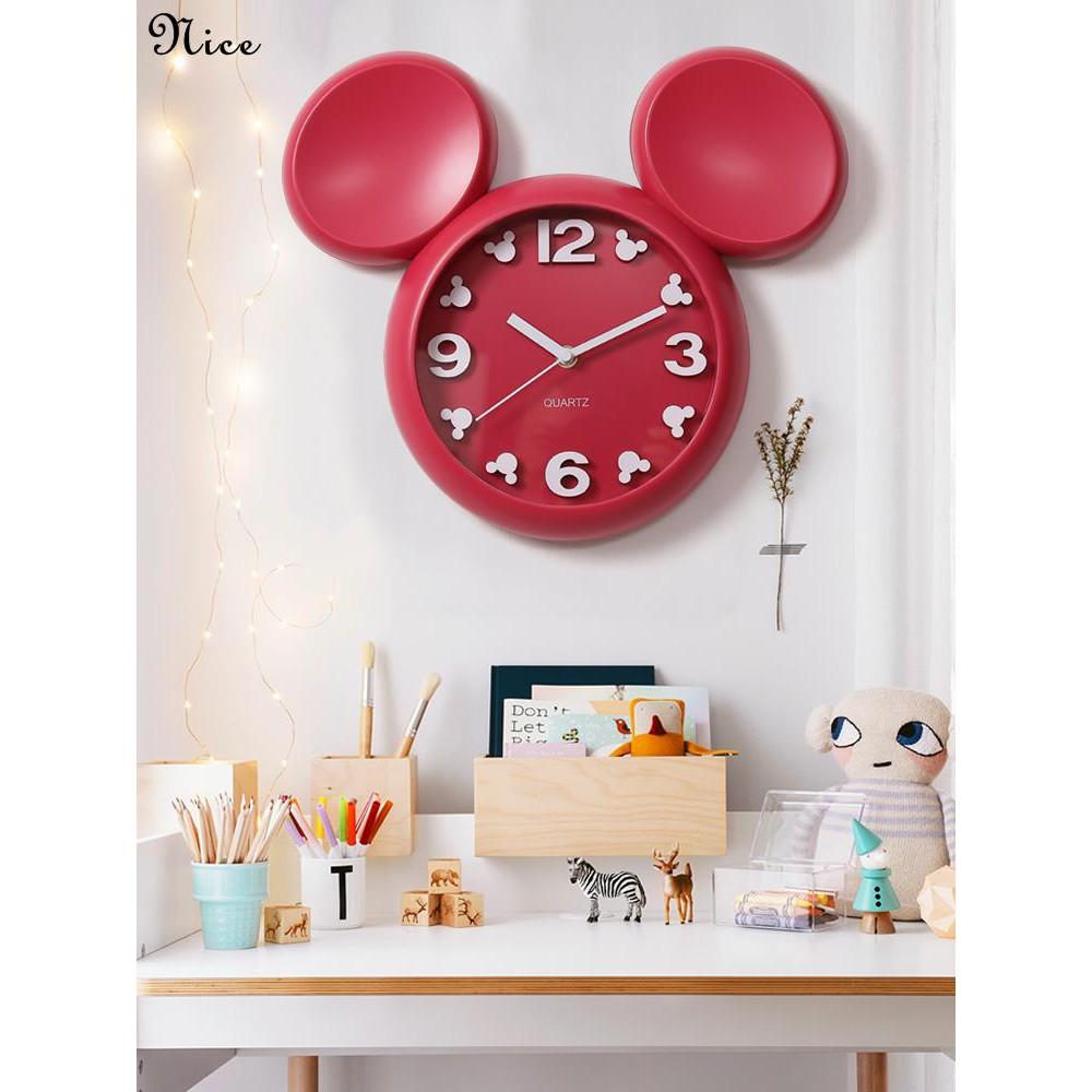 Jam Kartun Jam Dinding Ruang Tamu Lucu Jam Dinding Tk Anak Anak Kreatif Kamar Tidur Dinding Bi