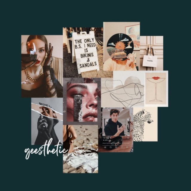 Brown Aesthetic Poster Wallposter Collagekit Poster Aesthetic Shopee Indonesia