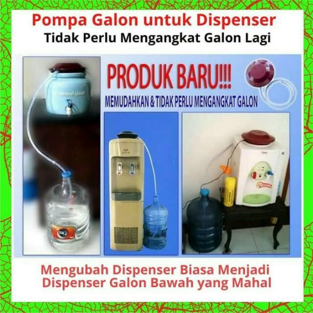 Pompa Galon Dispenser Loader Pompa Dispenser Galon Bawah Shopee Indonesia