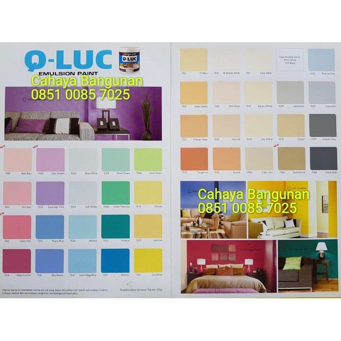 Dekorasi ruangan Cat Tembok Q Luc 5 kg Qluc Nippon Paint