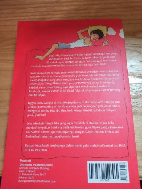 Novel Jaka Bukan Perjaka Shopee Indonesia