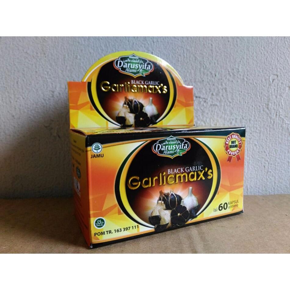 Kapsul Black Garlic Garlicmaxs Darusyifa   Shopee Indonesia -. Source · Black Garlic Garlicmaxs Bawang
