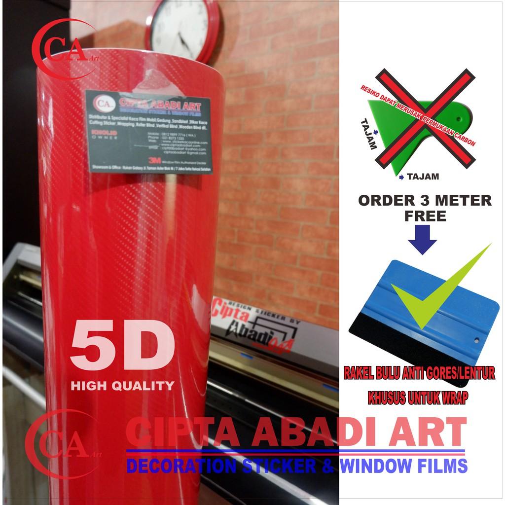 Jual Stiker Carbon 5d Murah Shopee Indonesia Sticker Skotlet Karbon