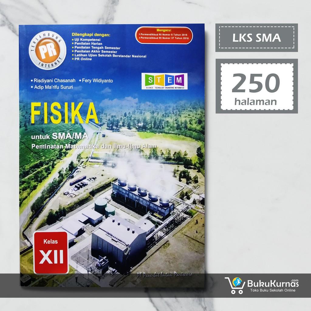 Buku Lks Fisika Kelas 12 Peminatan K13 Intan Pariwara Shopee Indonesia