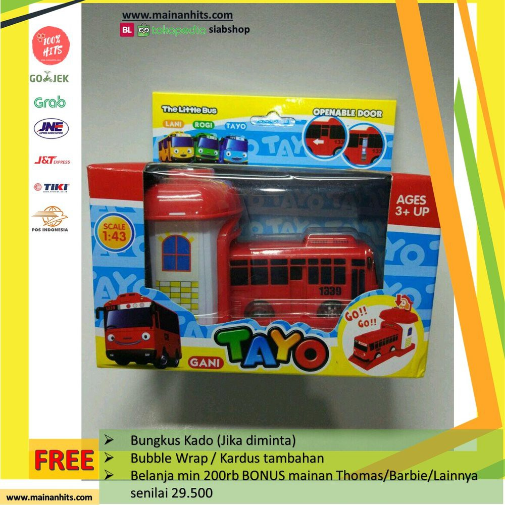 Jual Mobil Tayo Little Bus Garasi Satuan Berkualitas