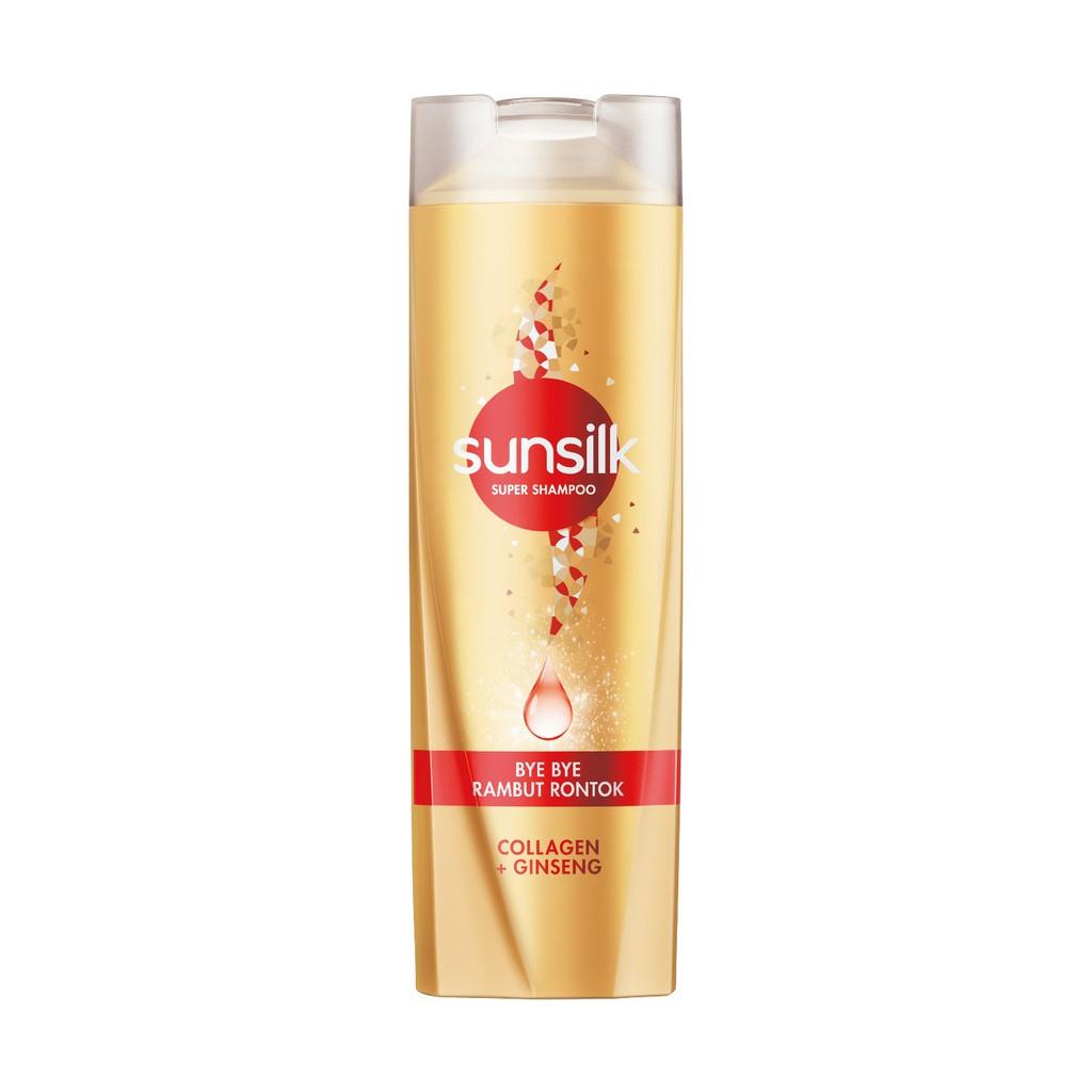 Sunsilk Super Shampoo Bye Bye Rambut Rontok 160ml-1