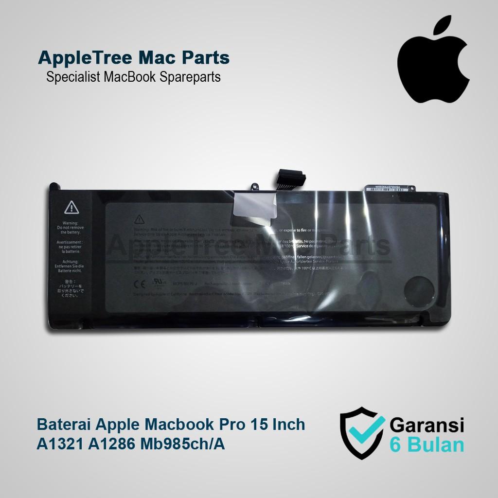 "Baterai Original Apple Macbook Pro 1"" A1 A1 Mb1ch/A Battery"