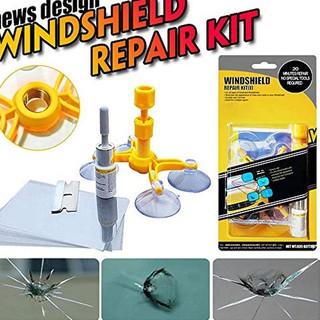 Windshield Repair Kit >> Ready Windshield Repair Kit Alat Reparasi Perbaiki Kaca Mobil Retak Terjamin