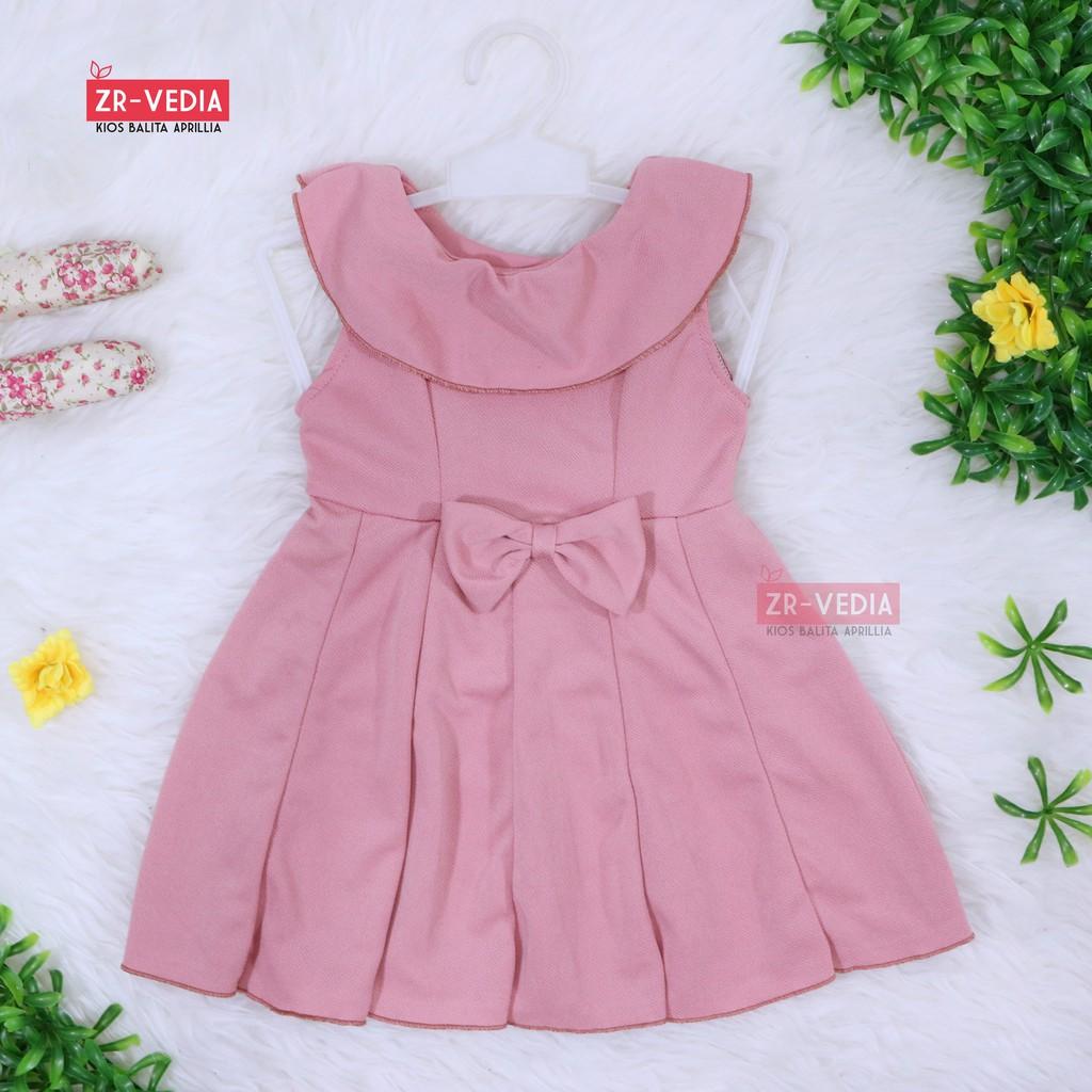 Gaun Dress Pesta Importulang Tahun Rok Tutu Bayi Balita Anak Baby Cute Pink Import Usia 6 Sd 24 Bulan Perempuan Shopee Indonesia
