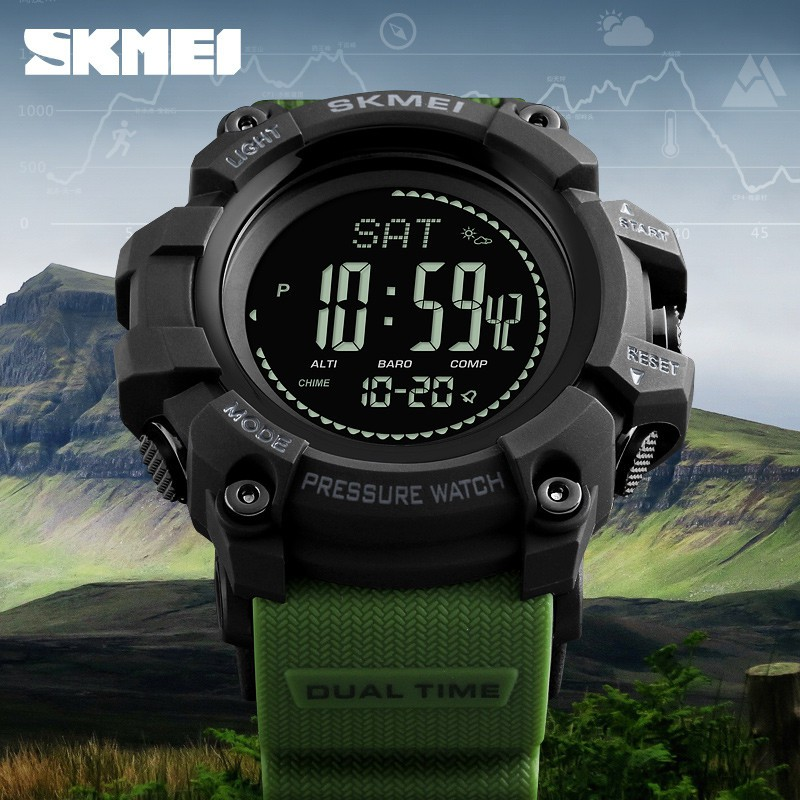【Skmei Official Store】 SKMEI 1358 Jam Tangan Pria / Wanita / SKMEI Original / Sport Watch | Shopee Indonesia