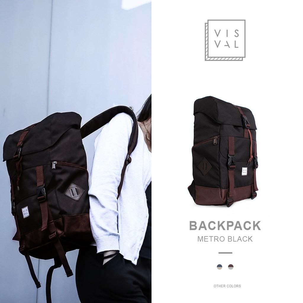 Tas Ravre The Helsinki Frostbite Series Laptop Backpack Troopers Black Matte Ransel Bagus Shopee Indonesia