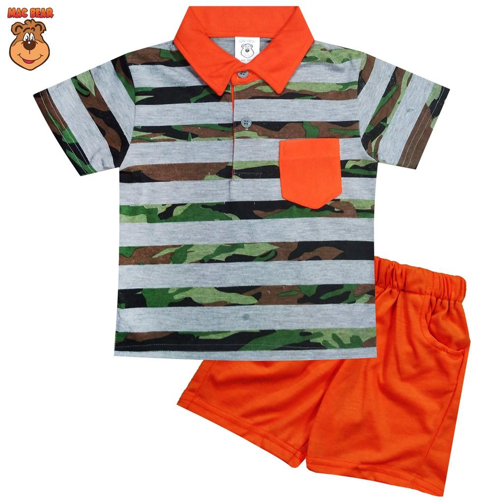 Macbear Kids Baju Anak Setelan Singlet Animal Lovers Shopee Indonesia Sweater 3 Animals Pocket Size Merah