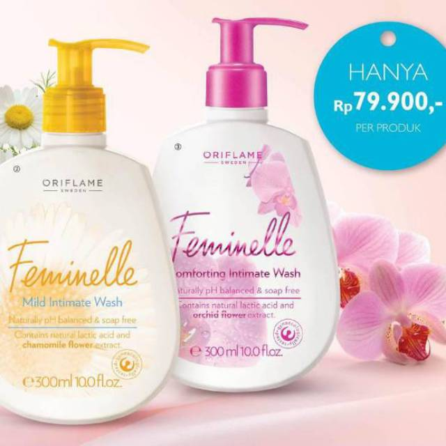 57719302d1 Oriflame Feminelle Mild Intimate Wash (share in bottle 100ml ...