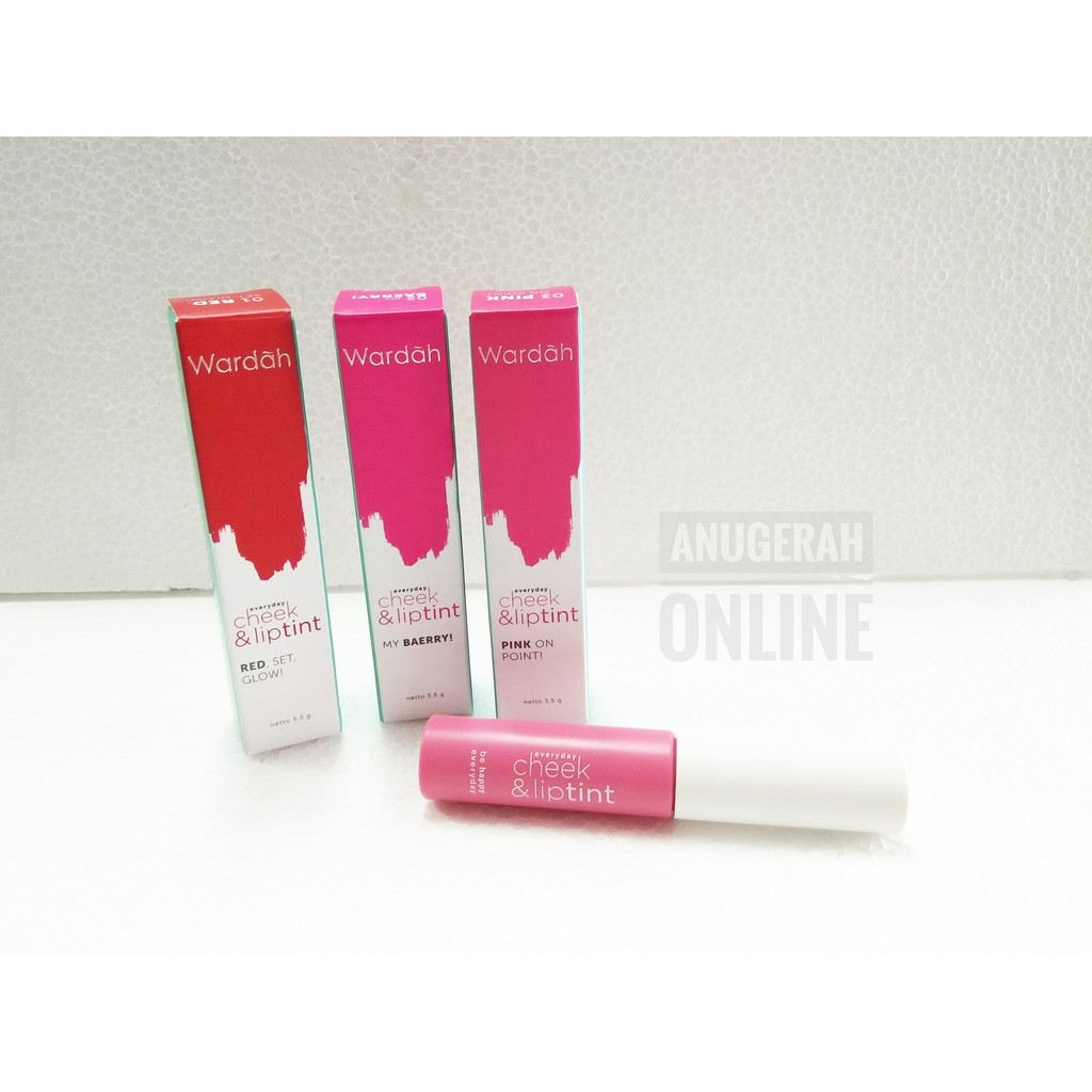 Wardah Everyday Cheek And Lip Tint Shopee Indonesia Liptint New