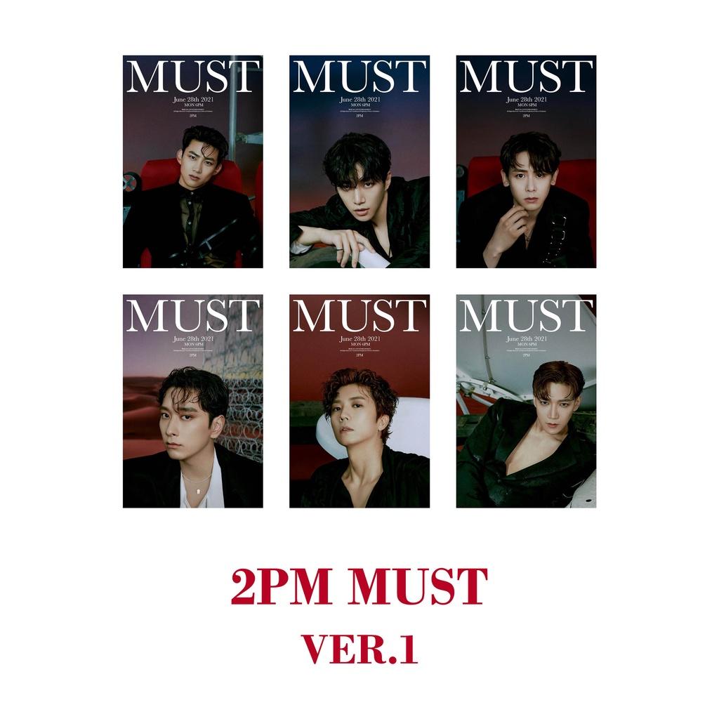 2PM - MUST PHOTOCARD KPOP