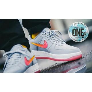 99acba4f60d8 NIKE AIR FORCE 1 07 PRM 2 Grey Multicolor UNAUTHORIZED BNIB Sepatu Sneakers  Gaya Jalan Santai