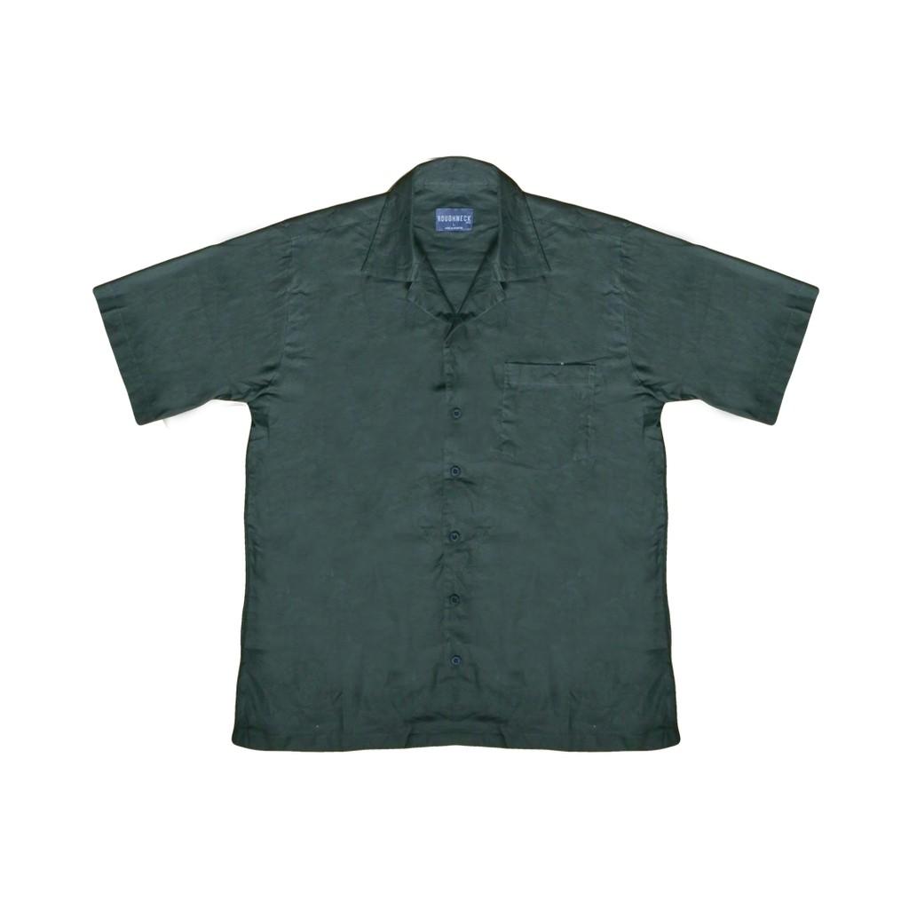 Light Green Shirt Shopee Indonesia Salt N Pepper Kemeja Pria Lengan Pendek Snp 034 Hitam L