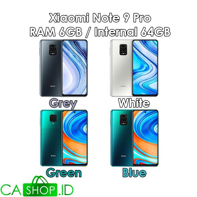 Xiaomi Redmi Note 9 Pro 6gb 64gb 6 64 Baru Original Garansi Resmi Shopee Indonesia