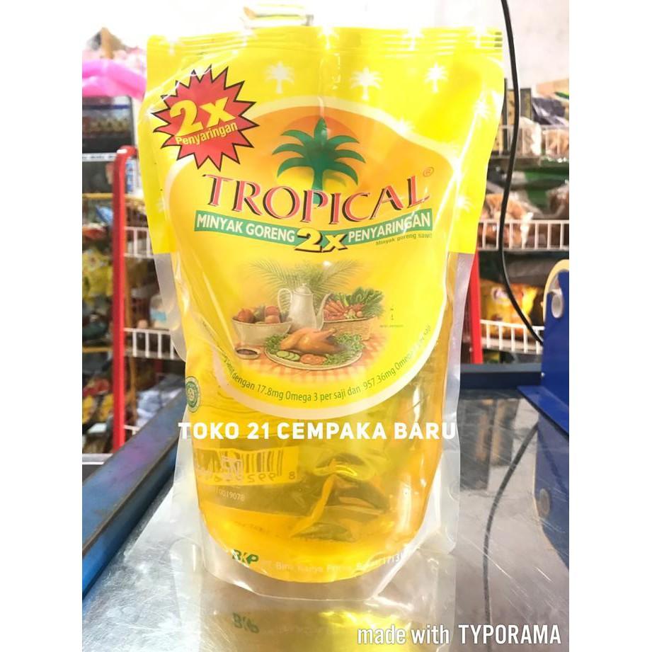 Khusus Gojek Tropical Minyak Goreng Refill 2 Liter Shopee Indonesia Sunco L 1 Dus 6 Pcs